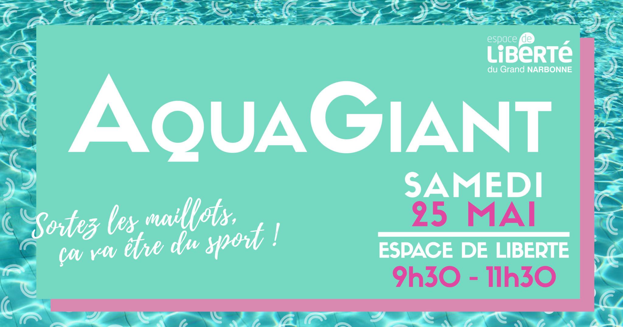 AquaGiant ~~ Sortez les maillots, ça va être du sport !!