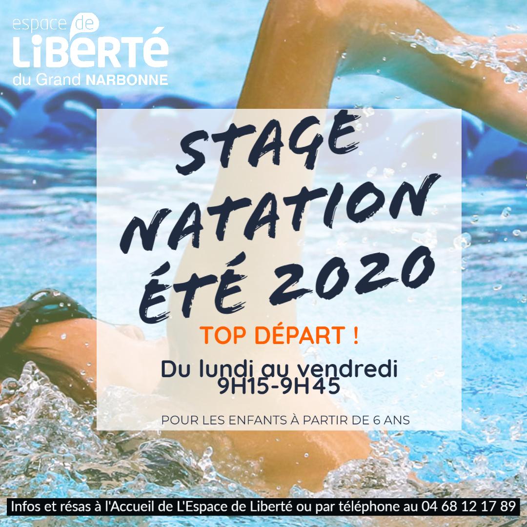 STAGE NATATION ETE 2020